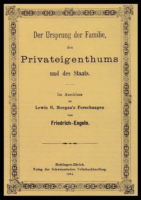 the origin of the family property and the state books the origin of the family property and the state