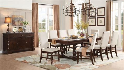 informal dining room homelegance yates casual dining room group del sol