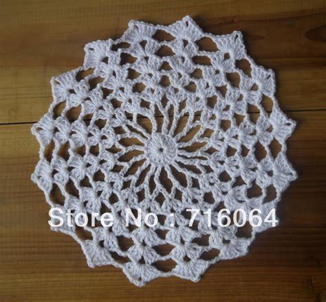 Handmade Crochet Doilies - aliexpress buy handmade crocheted doilies cup mat