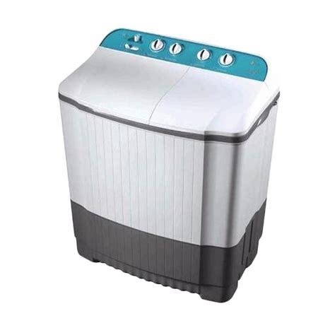 Mesin Cuci Lg 1 Tabung Turbo Drum jual lg wp1460r mesin cuci 2 tabung harga