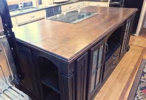 Wood Island Tops Kitchens How To Make A Thick Countertop Out Of Thin Wood Wunderwoods