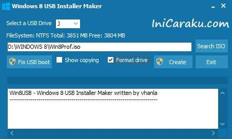 cara membuat bootable windows 8 dari usb flashdisk cara membuat bootable windows 8 dari usb flashdisk