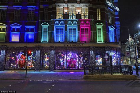 lights for window display harvey nichols unveils its studio 54 inspired