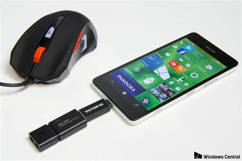 Usb Otg Nokia the lumia 950 and usb otg thumb drives microphones and keyboards windows central