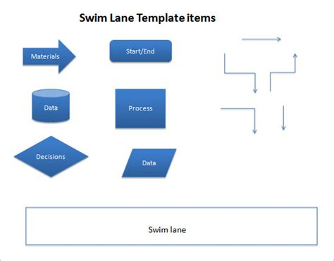 Free Templates Download For Microsoft Powerpoint Powerpoint Swim Lanes