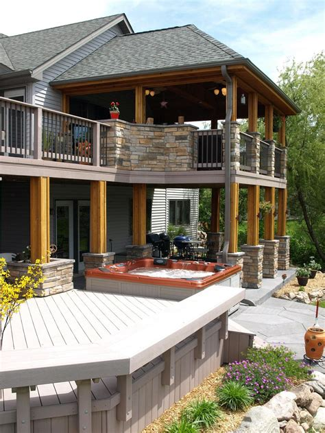 porch patio deck make a splash with pool decks and spa decks in des moines