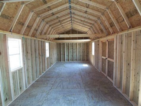 Lofted Barn Shed Plans