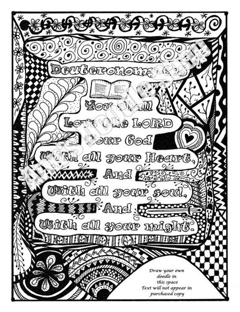 Deuteronomy 6 Coloring Pages by 176 Best Deuteronomy Bible Journaling By Book Images On