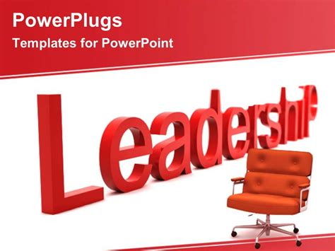 leadership powerpoint templates powerpoint template leadership skills 18728