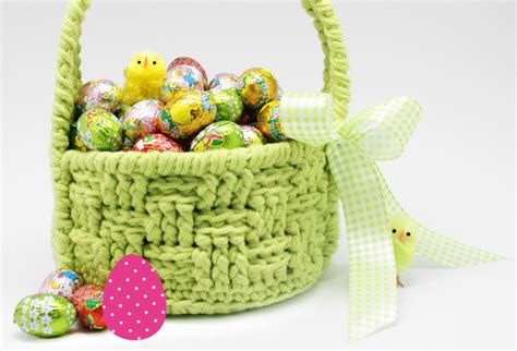 free knitted easter basket patterns easter crochet and knitting patterns yarnplaza for