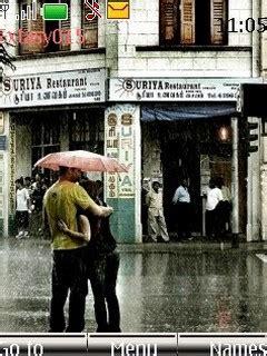 themes love kiss nokia download kiss in the rain nokia theme mobile toones