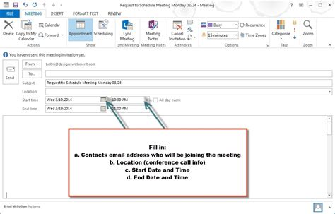 setting up a template in outlook meeting invitation email outlook cogimbo us