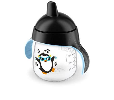 Avent Spout Cup 18m Penguin Sippy Pingu 340ml spout cup scf753 33 avent