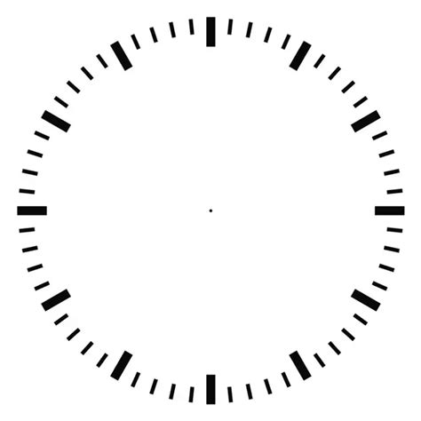 hour and minute template at 12 o clock the hour and the minute are pointing to