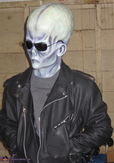 mens homemade alien costume