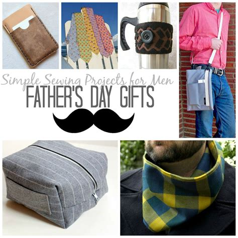 fabric crafts for men 21 simple sewing projects for s day gifts