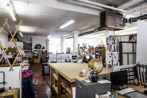 Set Semi Berlian artist studio space in hackney semi open plan artconnect