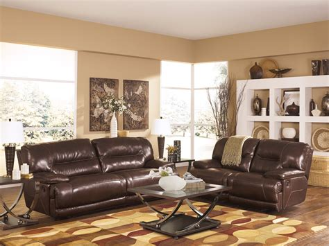 ashley furniture living room buy ashley furniture exhilaration chocolate reclining