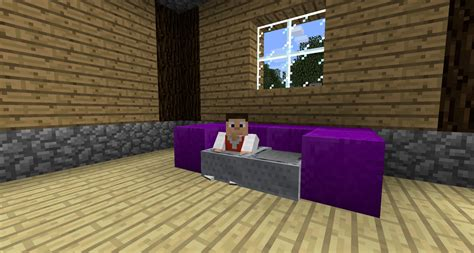couches in minecraft image gallery minecraft couch