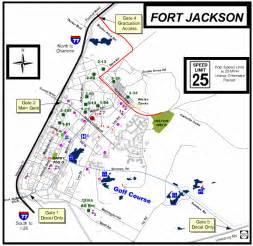 fort jackson graduation information maps