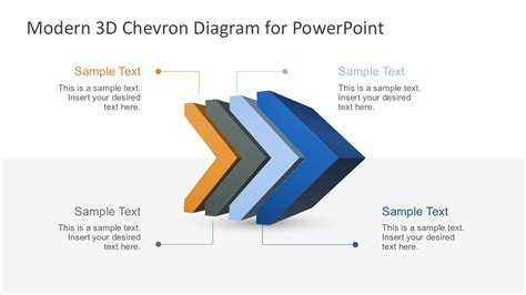 powerpoint chevron template professional templates for you