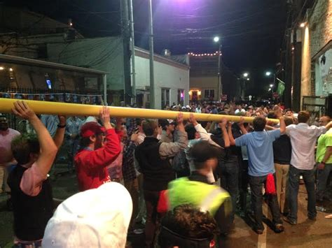 ole miss student section 187 celebration football fans take over oxford square after