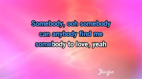 download mp3 queen somebody to love karaoke somebody to love queen youtube