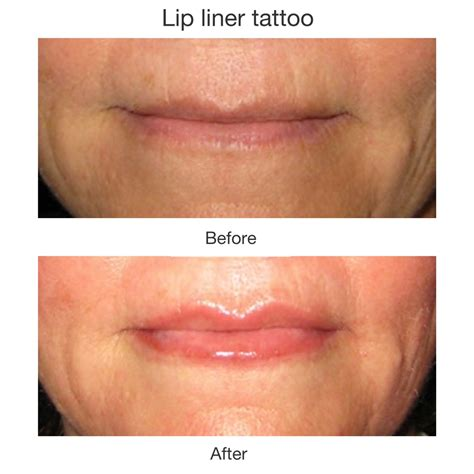 tattooed lip liner cosmetics pleasant nails spa salon