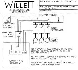 phase converter schematic phase free engine image for user manual