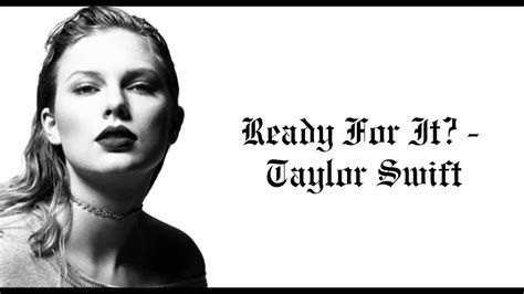 taylor swift are you ready for it t shirt ready for it taylor swift acapella youtube