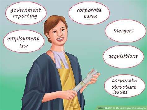 how to be a how to be a corporate lawyer 15 steps with pictures