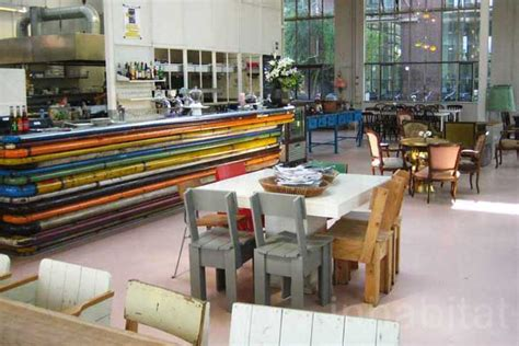 upcycled design piet hein eek s restaurant in eindhoven is filled with
