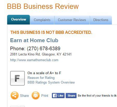 earn at home club review