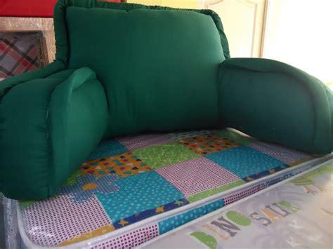 cojines cama cojin para cama respaldo brazos verde nuevos las