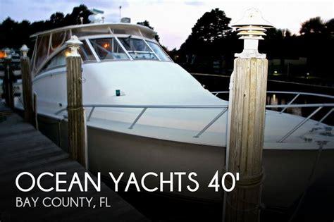fishing boats for sale panama city florida ocean yachts 40 sport fish for sale in panama city fl for