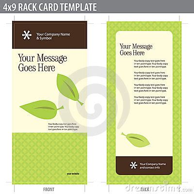 keyhole nature brochure template design id 0000008048 4x9 rack card brochure template stock photos image 8937033