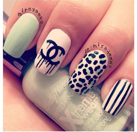 Different Nail Designs by I Like The Design And I When Nails Different