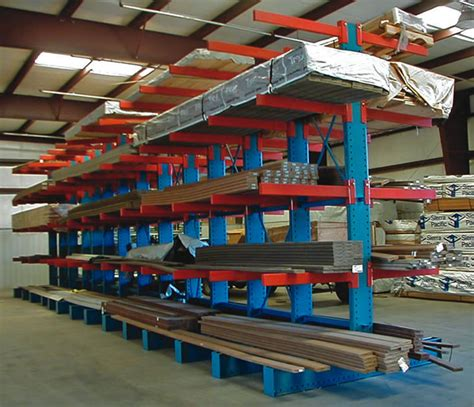 Custom Racking by Cantilever Racking Systems Custom Material Handling