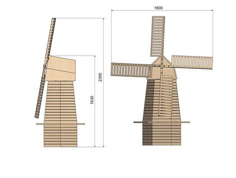 Plan De Moulin A Vent De Jardin En Bois by Moulin A Vent Page 2