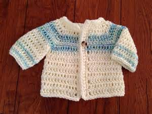 craft brag crochet baby boy sweater pattern free