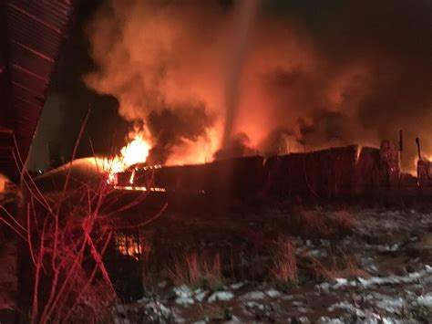 just add water boats fire crews battle large warehouse fire on southeast side of