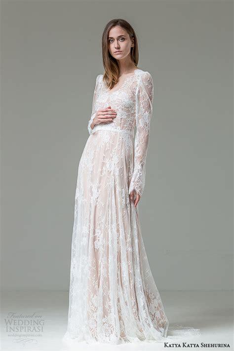 katya katya shehurina wedding dresses feather bridal