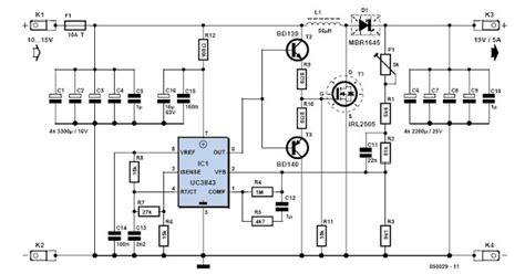 12v 10a battery charger circuit diagram 12v to19v power supply