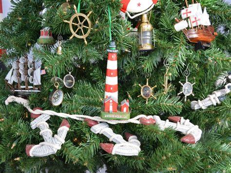buy assateague lighthouse christmas tree ornament model
