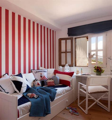 imagenes habitaciones rojas camas