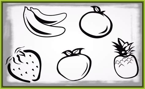 imagenes de frutas faciles para dibujar imagenes de canastas de frutas para dibujar archivos