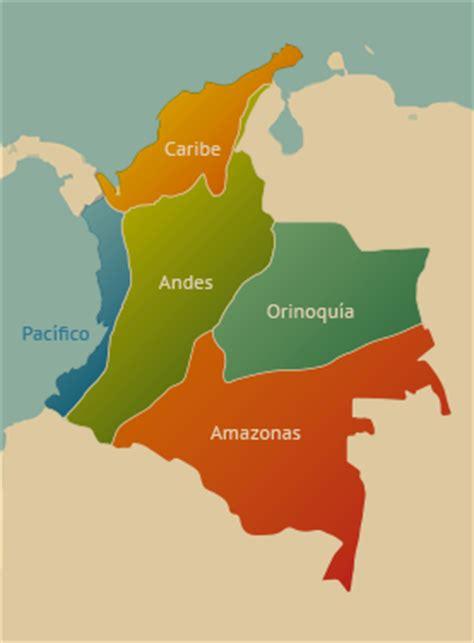 imagenes regiones naturales de colombia regiones naturales la ruta natural
