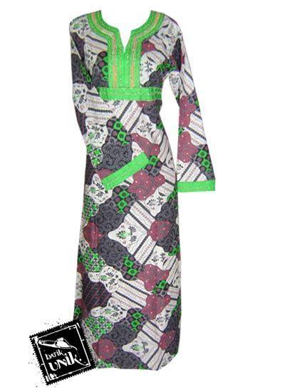 Gamis Payet Buka Pintu 1 baju batik gamis payet aneka motif batik modern gamis