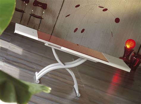 Space Saving End Table by Clever Coffee Table From Ozzio Space Saving Tables