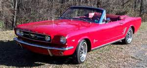 1966 Ford Mustang Convertible For Sale 1966 Ford Mustang Convertible 289 For Sale Cars